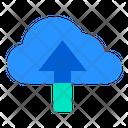 Cloud Upload Storage Icon