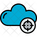 Cloud Target Cloudy Icon