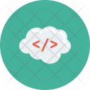 Cloud Code Html Icon