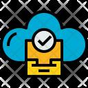 Cloud Stroage Check Icon