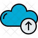 Cloud Upload Cloudy Icon