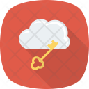 Cloud Internet Key Icon