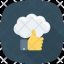 Cloud Cloudcomputing Like Icon