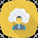 Cloud Communication Online Icon