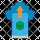 Cloud Data File Icon