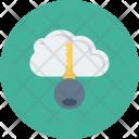 Cloud Internet Key Icon