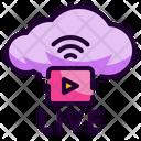 Internet Server Data Icon