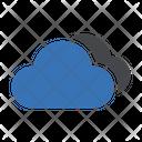 Cloud Database Server Icon