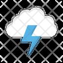 Cloud Energy Power Icon