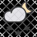 Cloud Snow Snowfall Icon