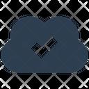 Cloud Sync Storage Icon