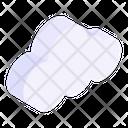 Overcast Cloud Meteorology Icon