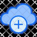 Cloud Computing Plus Icon
