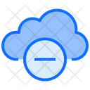 Cloud Computing Minus Icon