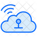 Cloud Computing Wifi Icon