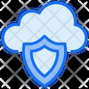 Cloud Computing Protection Icon