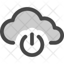 Cloud Storage Computing Icon