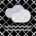 Cloud Mist Fog Icon