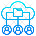 Cloud Database Network Database Network Network Icon