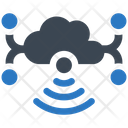 Cloud Connection Internet Icon