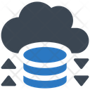 Cloud Cloud Storage Database Icon
