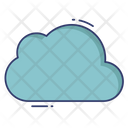 Cloud Computer Artificial Intelligence Icon