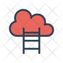 Cloud Ladder Stair Icon