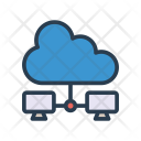 Cloud Server Sharing Icon