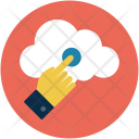 Cloud Gesture Ppc Icon