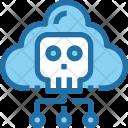 Cloud Network Danger Icon
