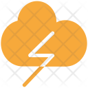 Cloud Thunder Flash Icon