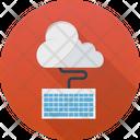 Cloud Kayboard Cloud Computing Icon