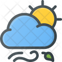 Cloud Sun Day Icon