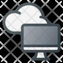 Cloud Symbol Computing Icon