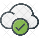 Cloud Computing Check Icon