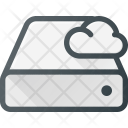 Cloud Computing Drive Icon
