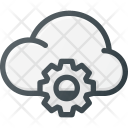 Cloud Computing Settings Icon