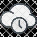 Cloud Computing Timeout Icon