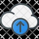 Cloud Computing Upload Icon