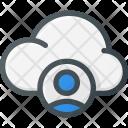 Cloud Computing User Icon