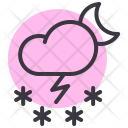 Cloud Night Moon Icon