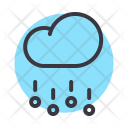 Cloud Rain Hail Icon