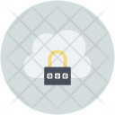 Cloud Computing Safety Icon