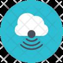 Cloud Network Wifi Icon