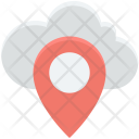 Cloud Computing Location Icon