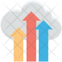 Cloud Computing Transfer Icon