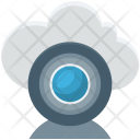 Cloud Camera Live Icon