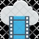 Cloud Computing Streaming Icon