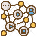 Cloud Connection Network Icon