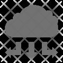Cloud Computing Hosting Icon